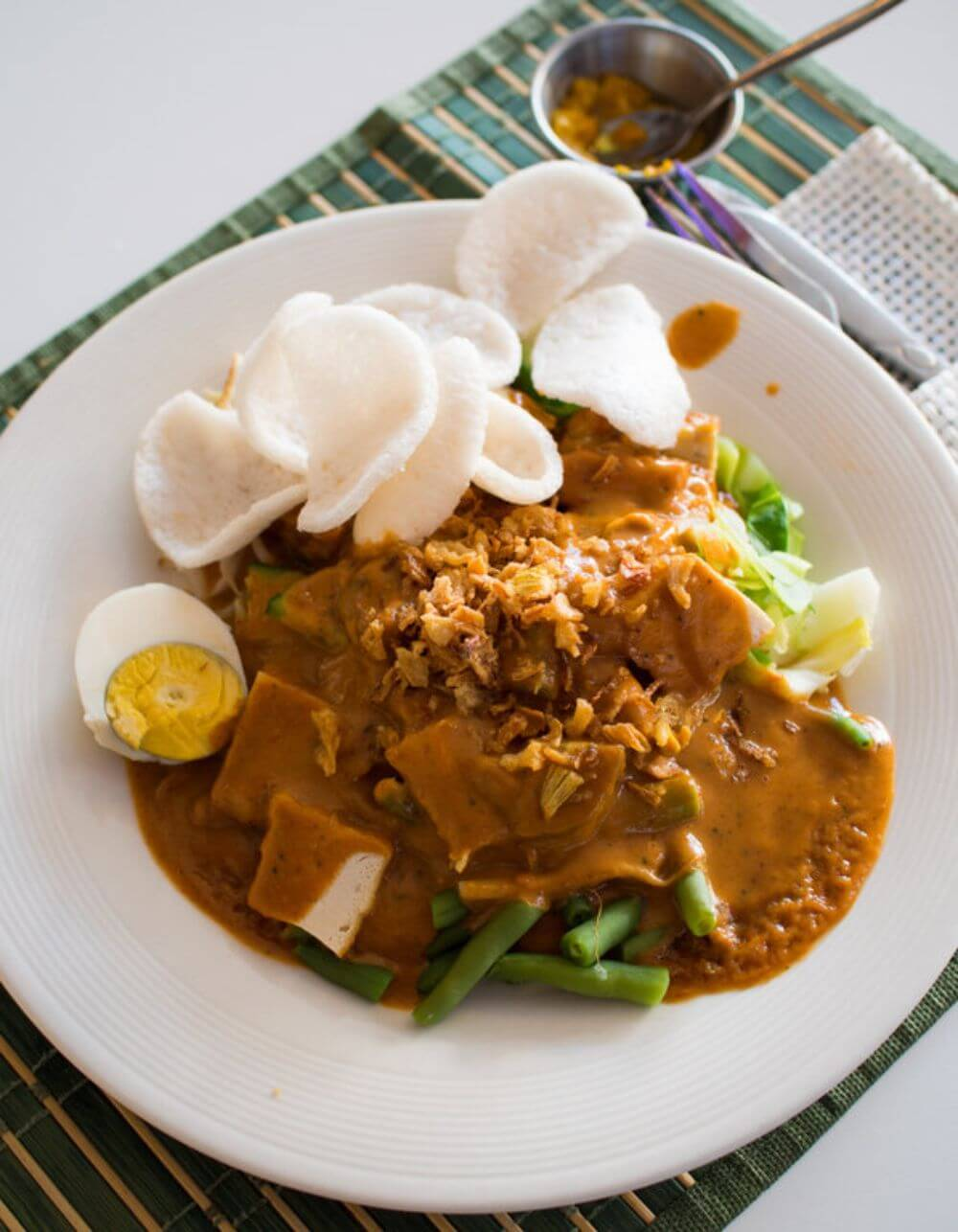 Gado Gado traditional indonesian dish