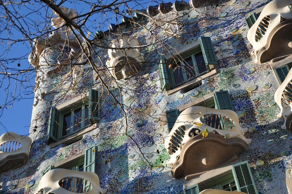 Gaudi architecture in Barcelona Gracia district, weekend guide