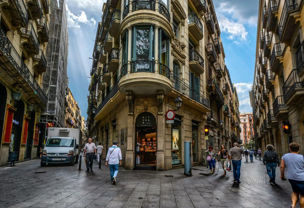 Gothic quarter in Barcelona attractions