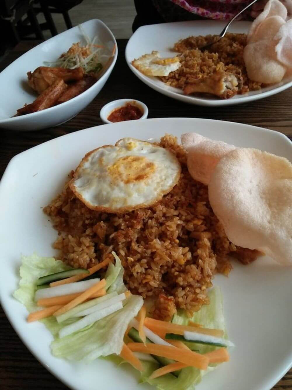Nasi goreng traditional indonesian food