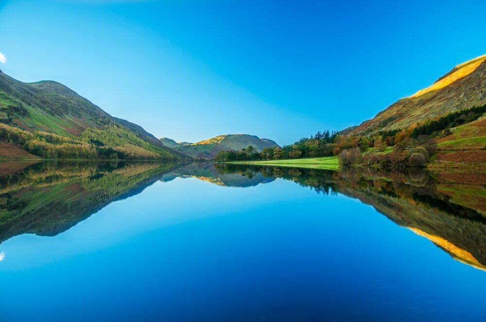 the Lake district in the UK