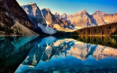 Beautiful mountains, Canadian nature