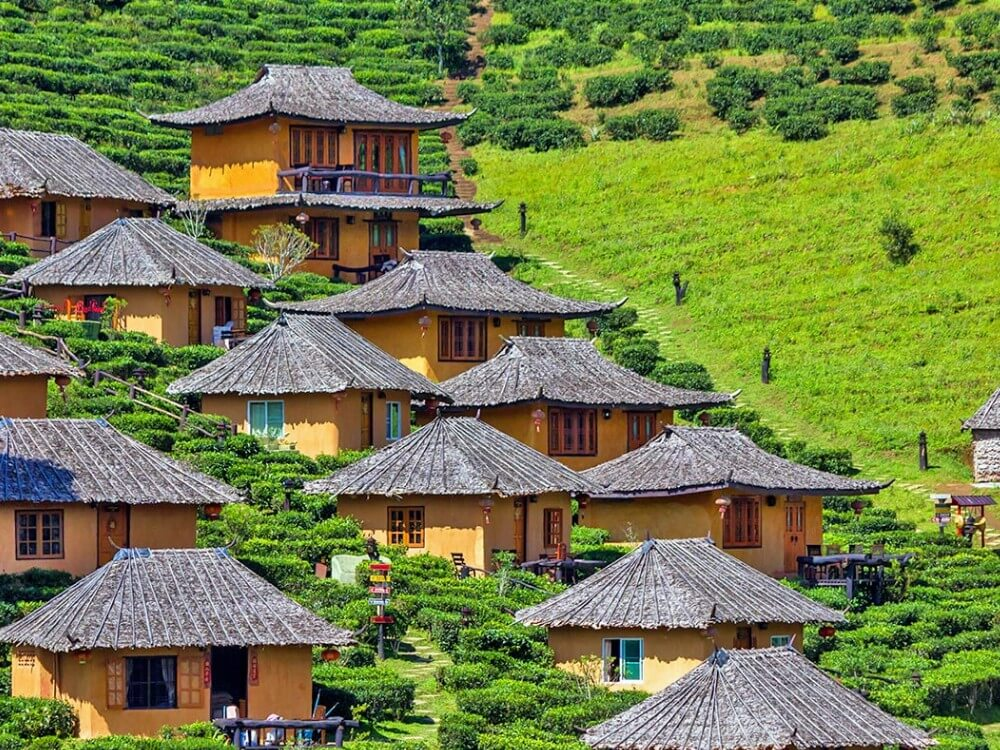 Mae Hong Son wooden houses in Thailand, places to visit in Southeast Asia